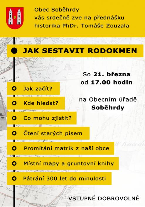 Soběhrdy - rodokmen