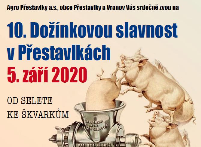 Dožínky 2020