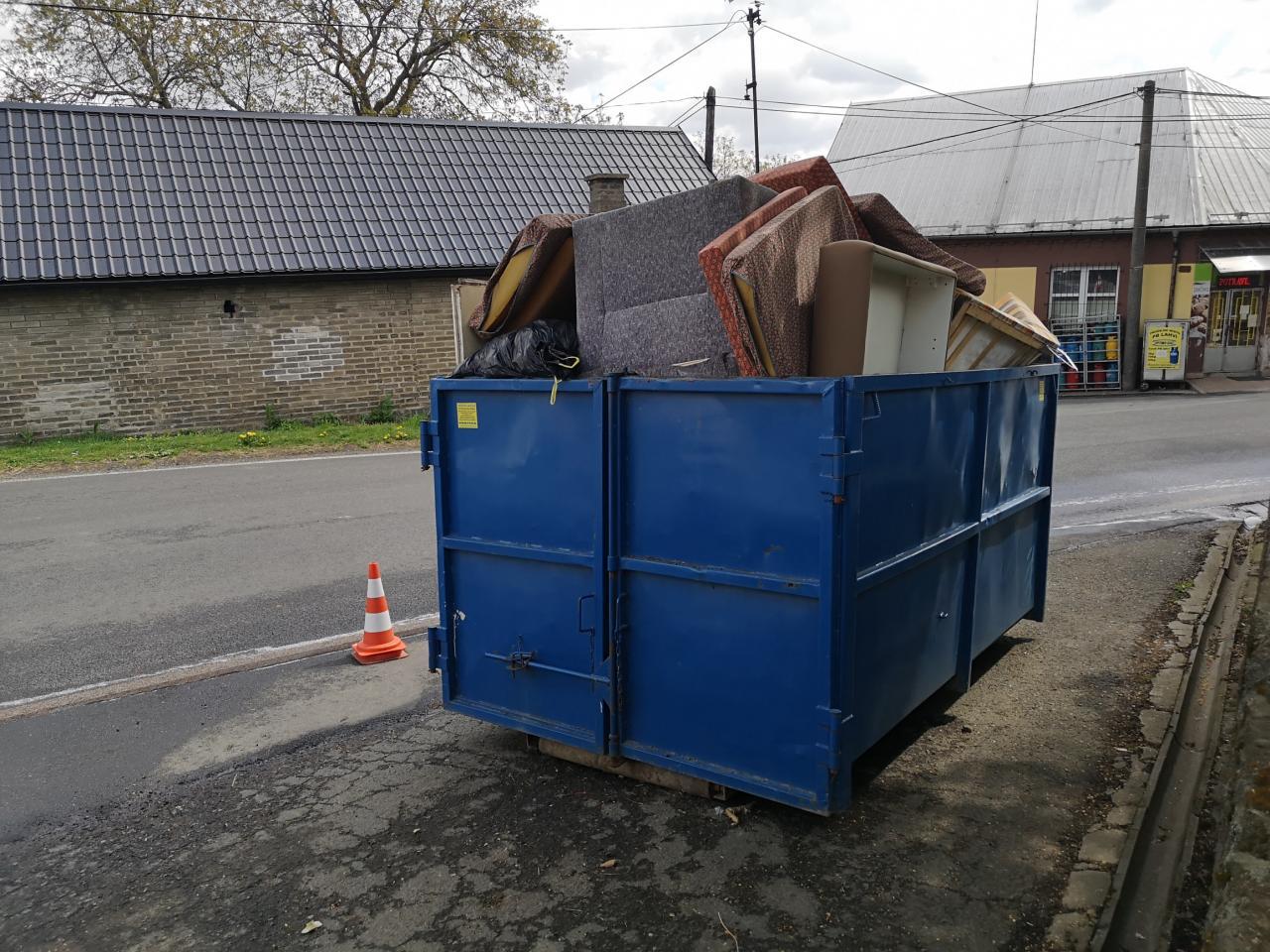 objemný odpad